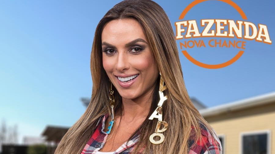 "Nicole Bahls, participante de ""A Fazenda 9"" - Antonio Chahestian/Record TV"