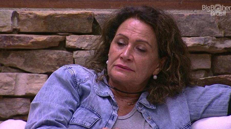 Ieda sugere que Marcos pode ter namorada fora do reality - Reprodução/TV Globo