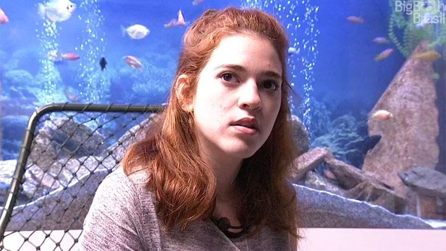"""Ana Clara durante o Raio-X no """"BBB18"""" - Reprodução/GloboPlay"""
