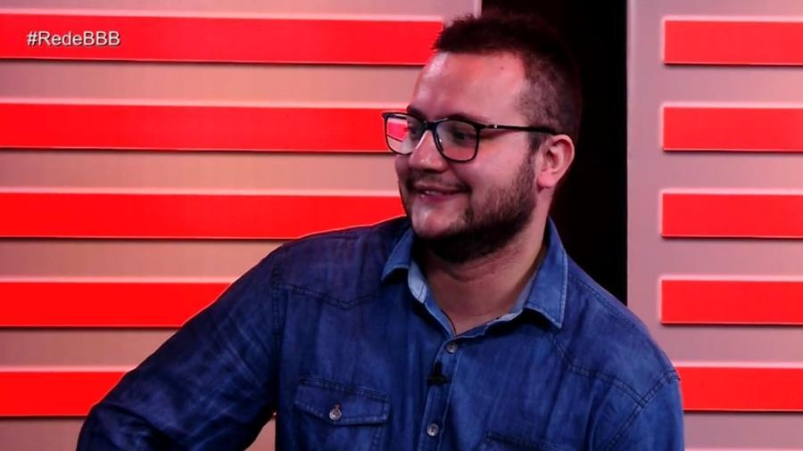 """Diego participa do programa """"RedeBBB"""" após ser eliminado  - Reprodução/Gshow"""