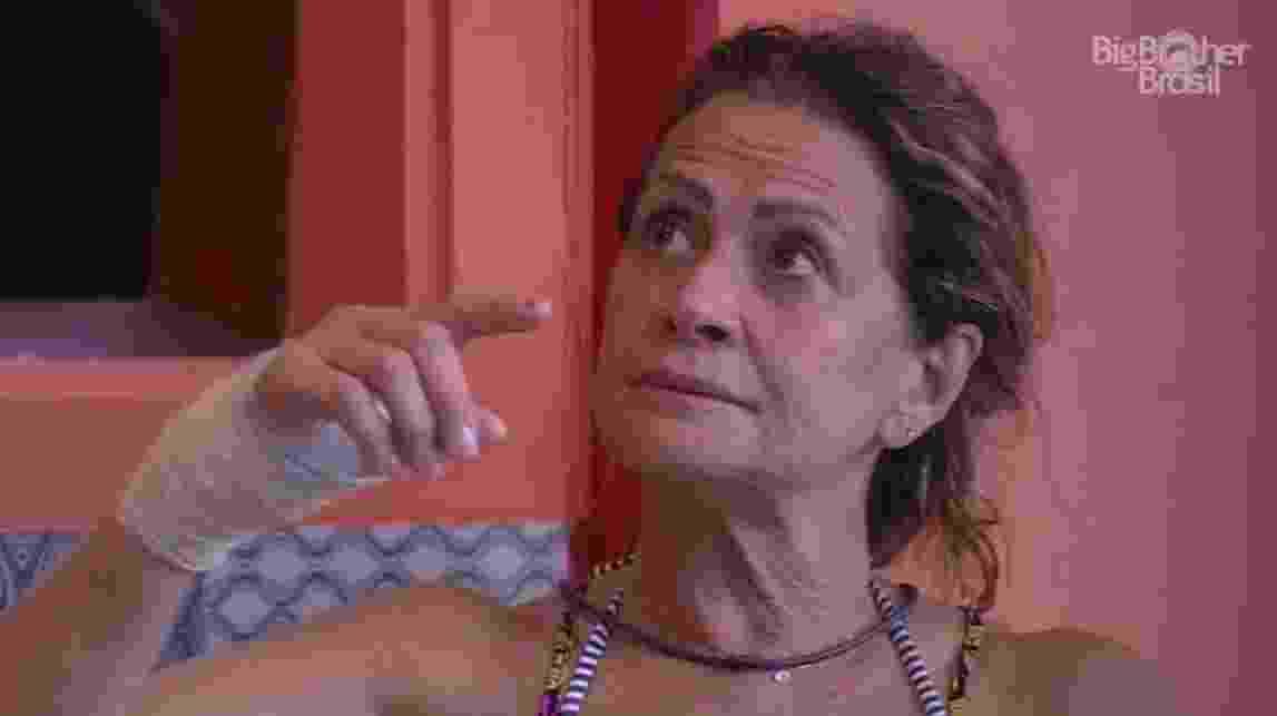 """06.fev.2017 - Ieda, participante do """"BBB17"""" - Reprodução/Tv Globo"""