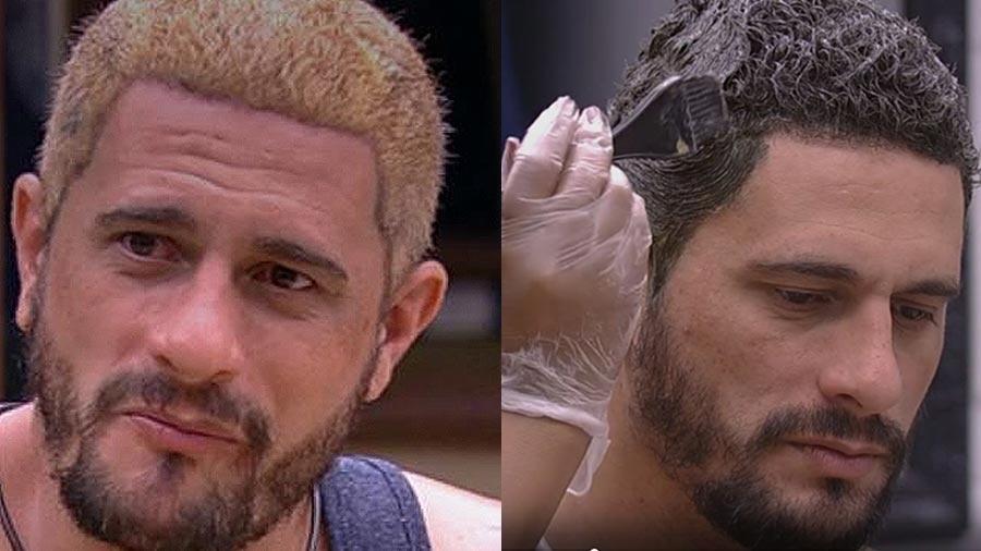Daniel desiste dos cabelos loiros - Reprodução/TV Globo