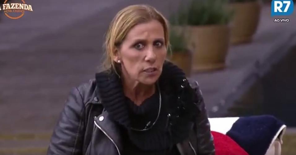 Rita Cadillac critica postura de Marcos Harter