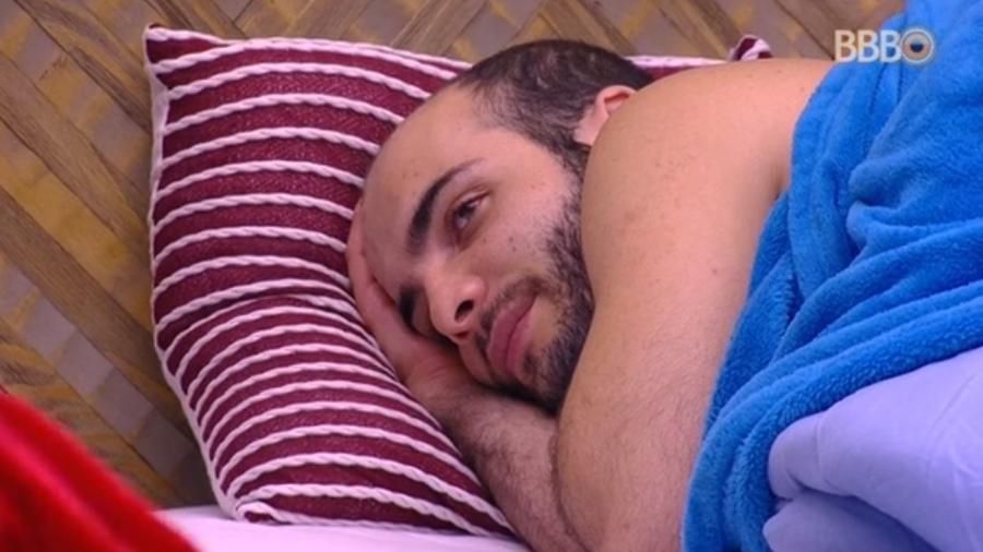 """Mahmoud teme não ter mais clientes em sua clínica de psicologia pós """"BBB18"""" - Reprodução/Globoplay"""