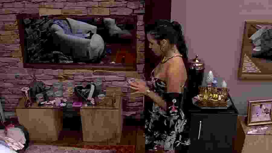 """Emilly acha que Elis merece ficar isolada no """"BBB17"""" - Reprodução/Gshow"""