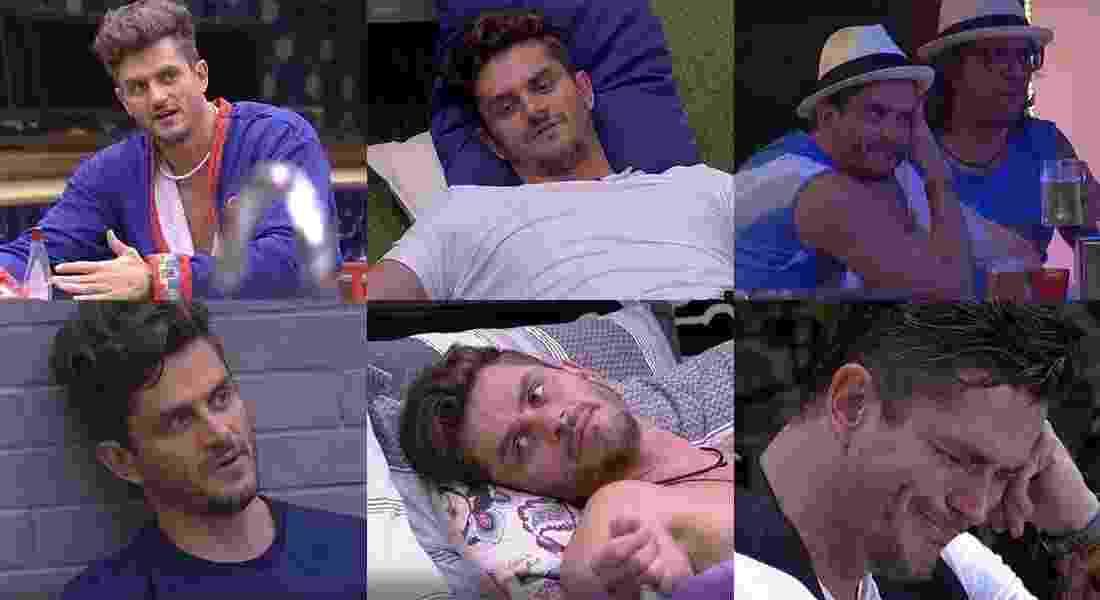 """As várias faces de Marcos no """"BBB17"""" - Montagem/TV Globo"""