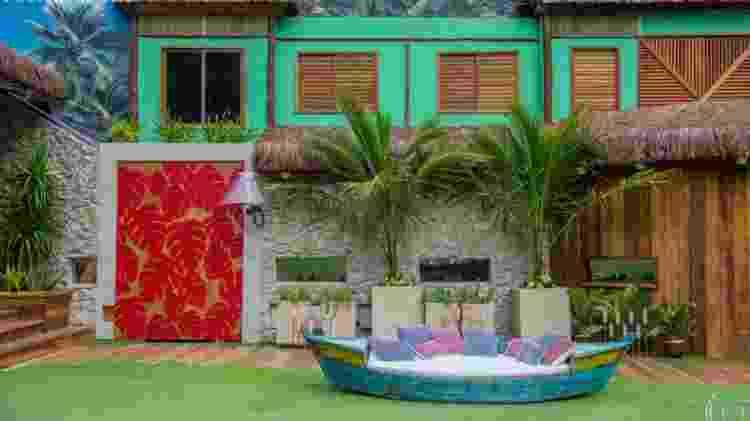 """Parte externa da casa do """"BBB18"""" - Reprodução/Gshow - Reprodução/Gshow"""