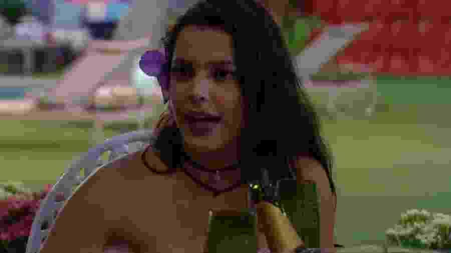"""Emilly fala sobre Marinalva: """"Não podia falar um """"A"""" que ela me atacava  - Reprodução/TV Globo"""