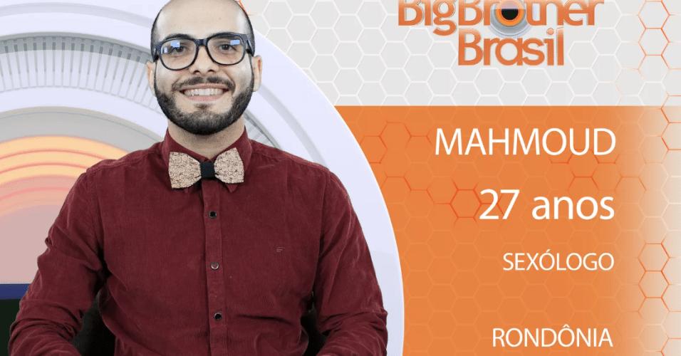 """Mahmoud, participante do """"BBB18"""""""