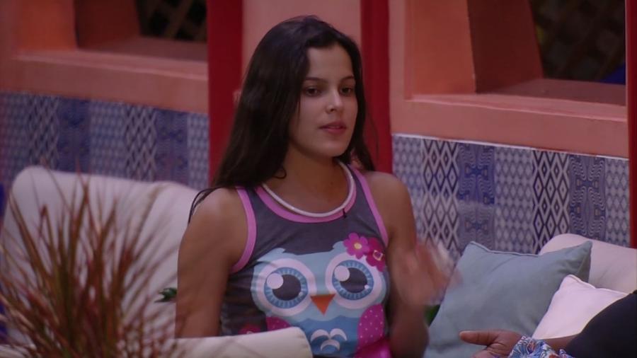 Emilly acha que Mayara ainda tem ciúmes de Antônio - Reprodução/Gshow