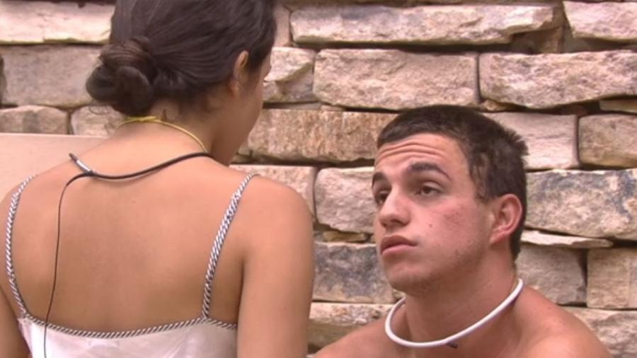 Emilly diz que Manoel não é sua opção de voto - Reprodução/TV Globo