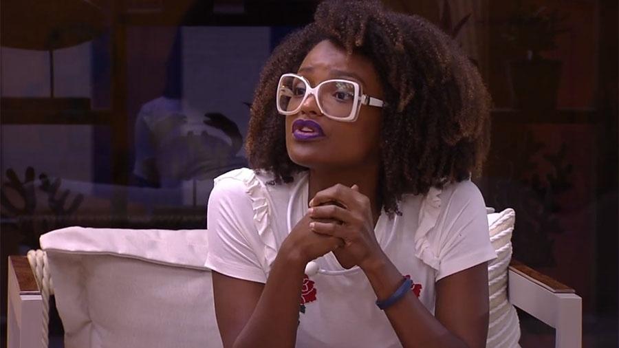 Nayara revela sua posição sobre acontecimentos da casa - Reprodução/GloboPlay