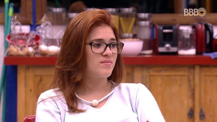 Ana Clara conversa com Gleici na cozinha - Reprodução/GlobosatPlay