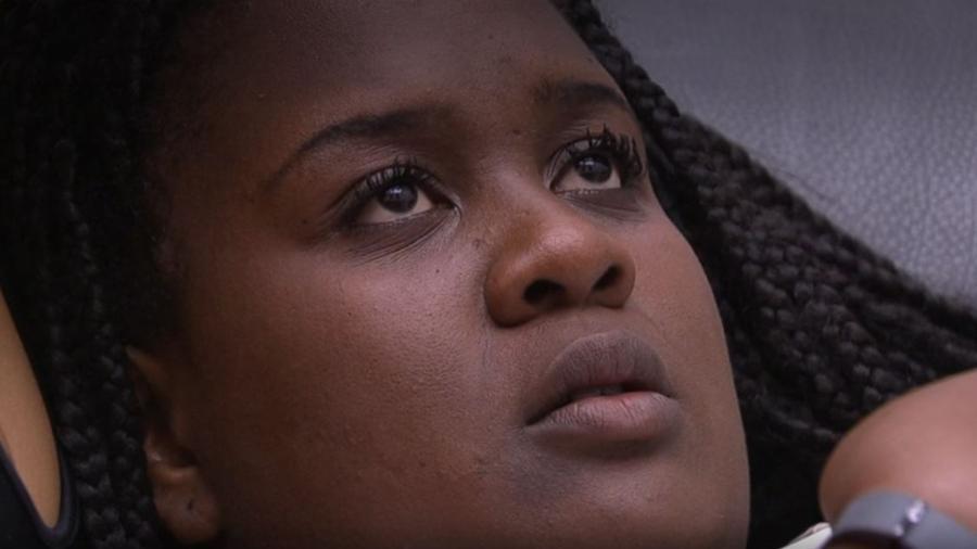 """Roberta: """"Não consigo mais"""" - Reprodução/TV Globo"""