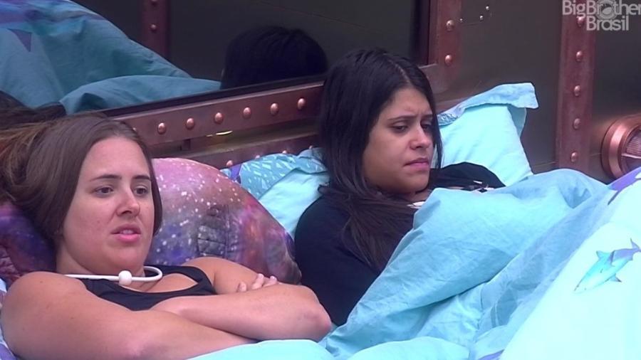 Patrícia fala de Jaqueline para Ana Paula e Wagner - Reprodução/Globoplay
