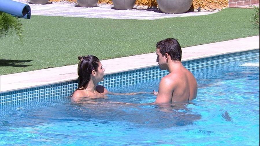 Vivian e Manoel: discussões constantes - Reprodução/TVGlobo