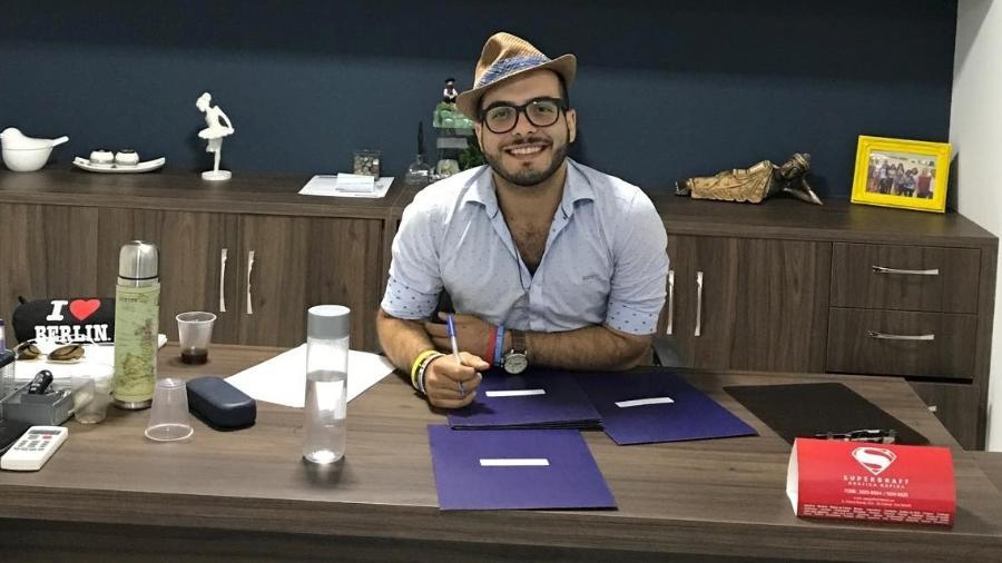 """Mahmoud, participante do """"BBB18"""" - Reprodução/Facebook"""