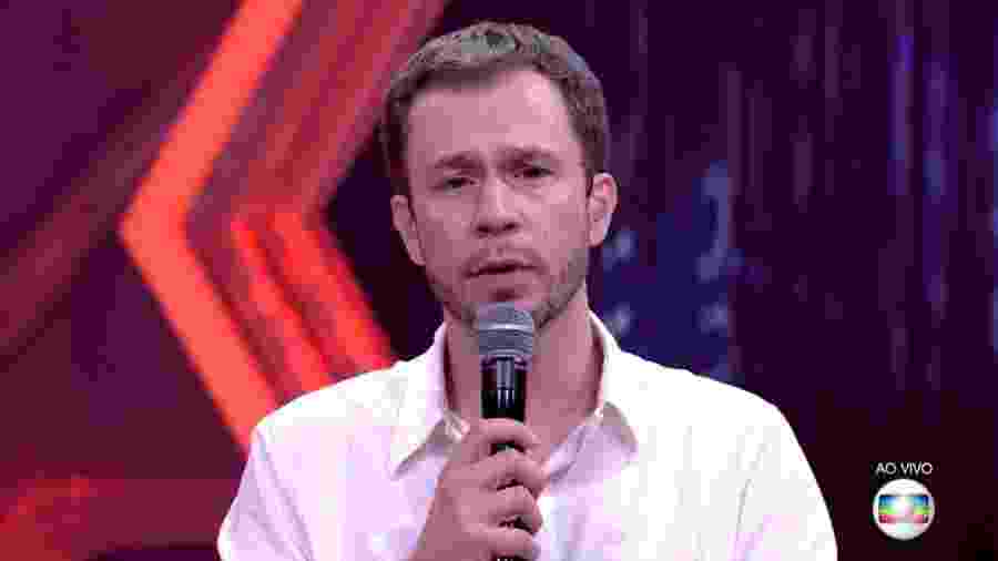 Leifert se diz preocupado com o comportamento do casal - Reprodução/Tv Globo