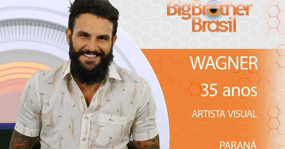 "Wagner, ultimo anunciado do ""BBB18"""