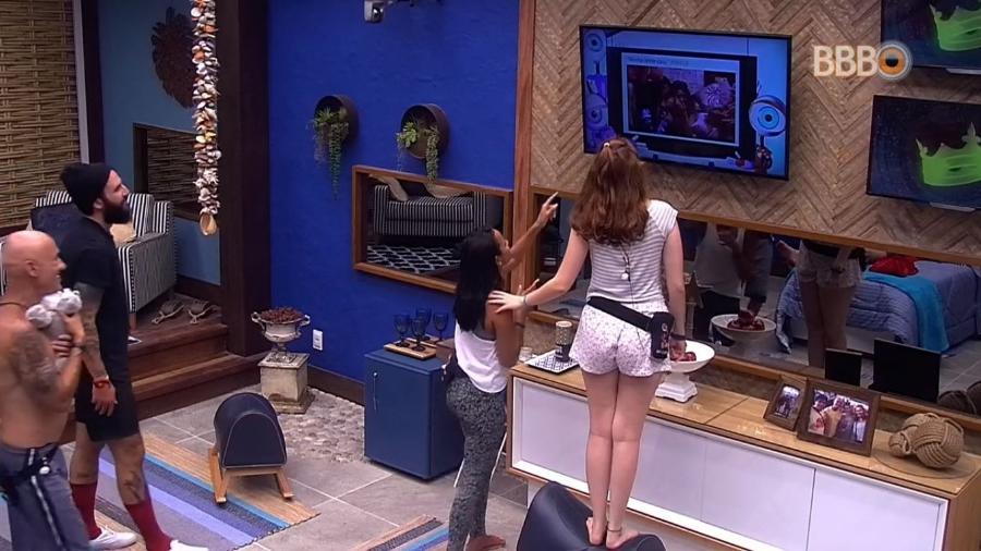 Ana Clara e Ayrton voltam ao quarto do líder - Reprodução/GlobosatPlay