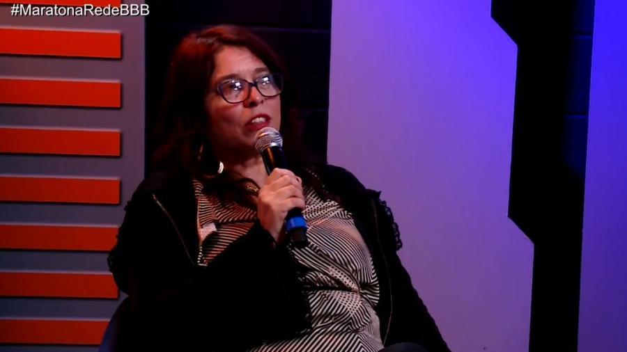 Mara comenta sobre o trio formado por Ana Paula, Diego e Patrícia - Reprodução/GloboPlay