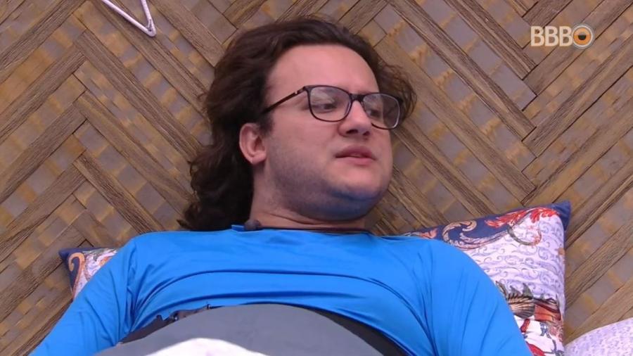Diego fala mal de Breno no quarto do líder - Reprodução/GlobosatPlay
