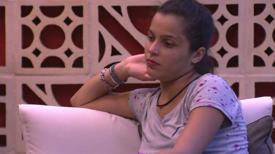 Emilly reclamou das inseguranças de Antônio antes da prova de imunidade - Reprodução/ TV Globo