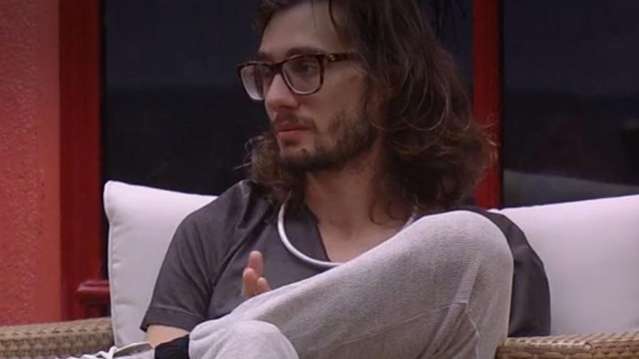 """Pedro diz que se sente acolhido no """"BBB17"""" - Reprodução/TV Globo"""