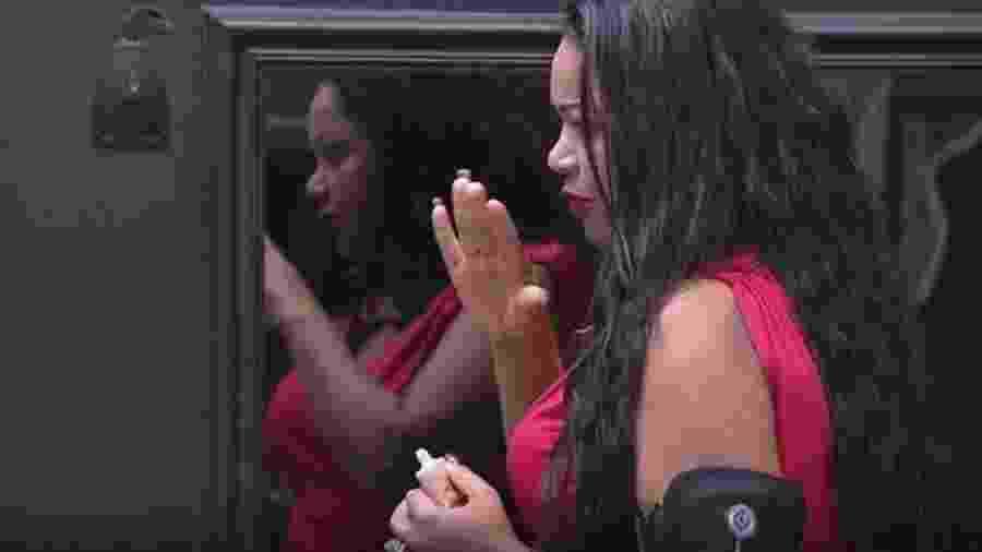 """Elis acredita que não tem mais futuro no """"BBB17""""  - Reprodução/TVGlobo"""