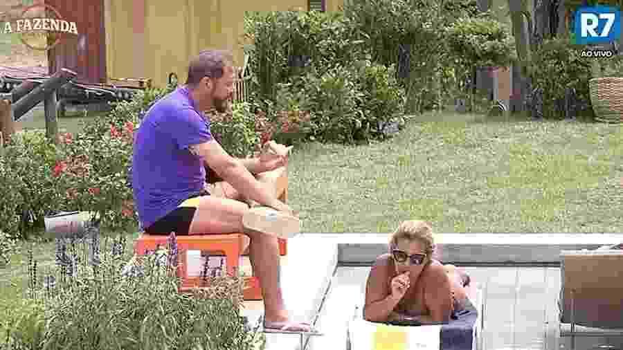 Rita e Conrado criticam Matheus - Reprodução/R7