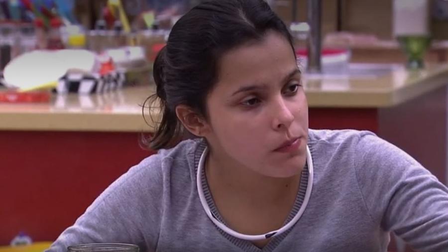 Emilly diz que não gostaria de emagrecer - Reprodução/TV Globo