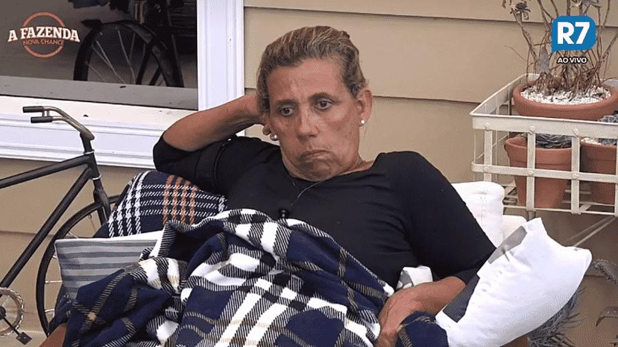 Rita Cadillac conversa com Marcos  - Reprodução/R7