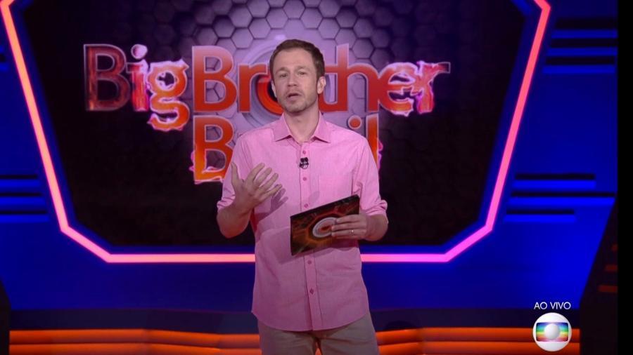 """Tiago Leifert fala sobre as novas regras do """"BBB18"""" - Reprodução/TvGlobo"""
