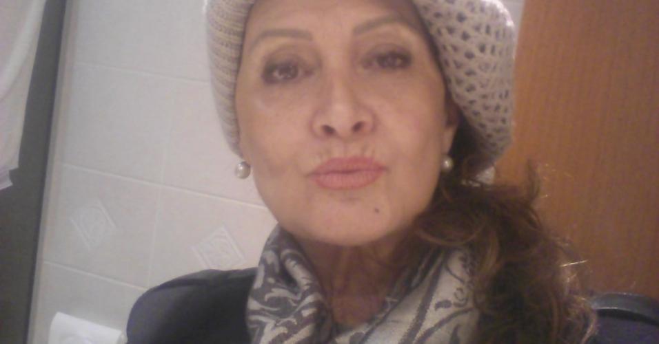 """A aposentada Ieda Wobeto, participante do """"BBB17"""""""