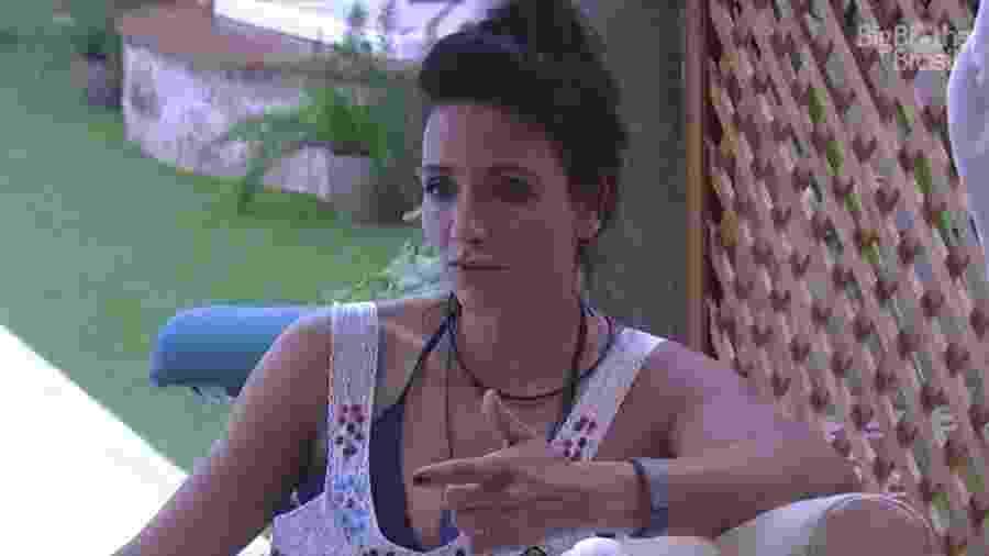 """28.jan.2017 - Marinalva, participante do """"BBB17"""" - Reprodução/Tv Globo"""