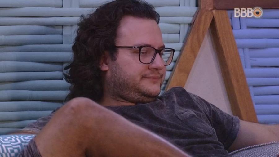 Diego declara voto da semana em Gleici - Reprodução/Globoplay