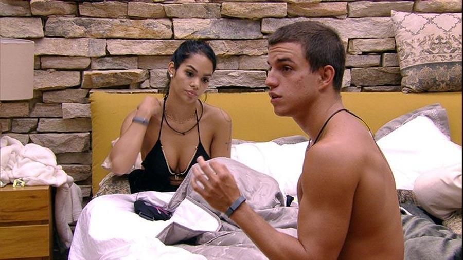 Mayara se considera a mais fraca - Reprodução/TV Globo