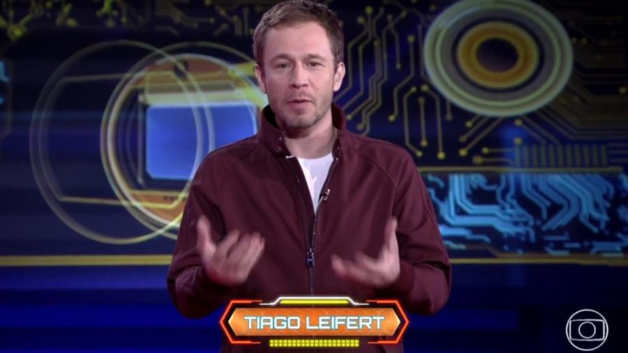 """Tiago Leifert apresenta a série """"Fogo no Parquinho"""" - Reprodução/Globoplay"""