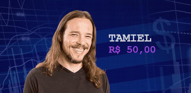 Cotação - Tamiel - Montagem UOL - Montagem UOL