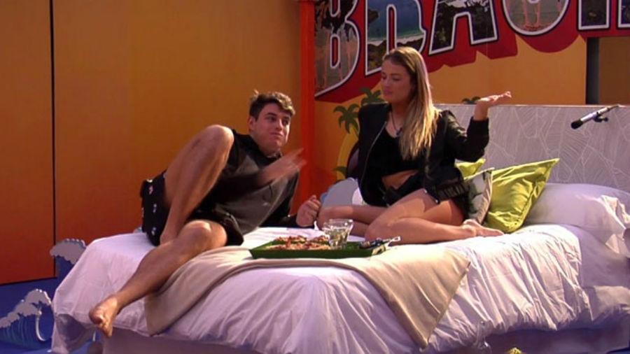 """Antônio ganha quarto sem câmeras para desfrutar de total intimidade no """"Gran Hermano"""" - Reprodução/Telecinco"""