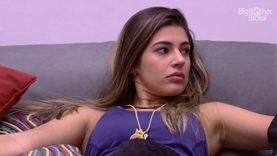 """01.fev.2017 - Vivian, participante do """"BBB17"""" - Reprodução/Tv Globo"""
