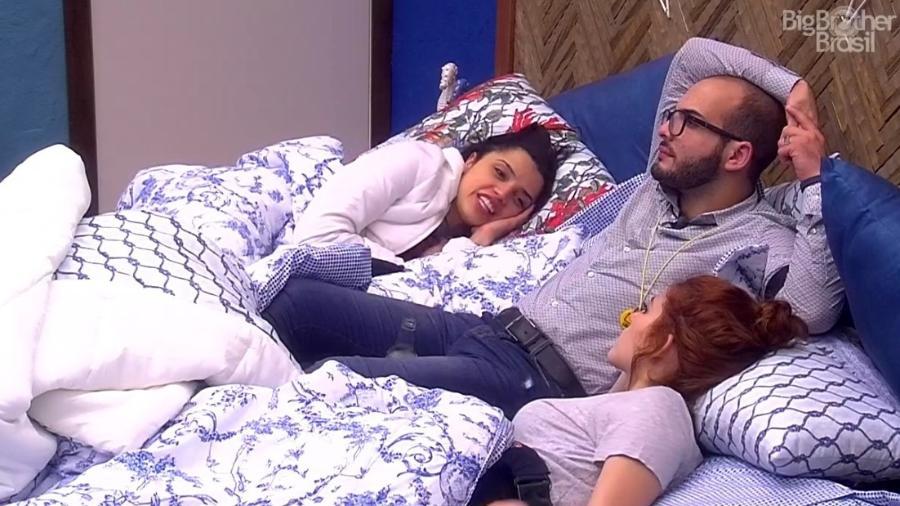 Mahmoud, Ana Clara e Paula falam sobre Wagner - Reprodução/Globoplay