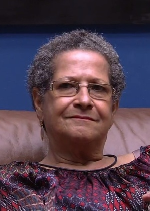 Com cinco pontos, Geralda foi eliminada nesta sexta-feira (1) - Reprodução/TV Globo