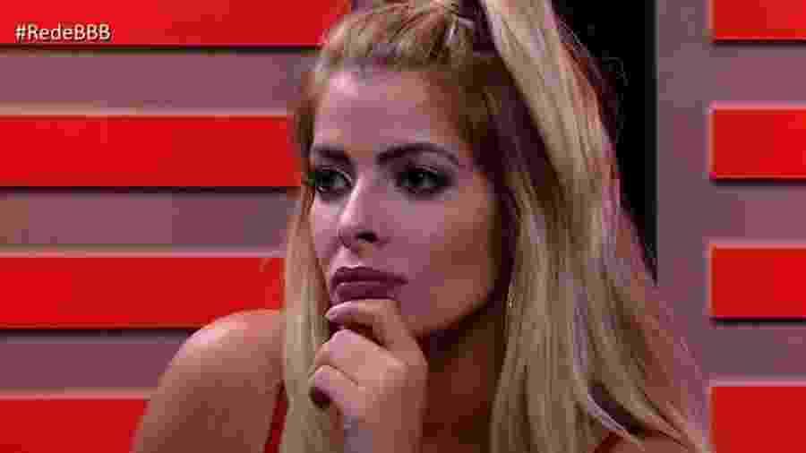 Jaqueline conversa com a ex-BBB Fernanda Keulla - Reprodução/Gshow