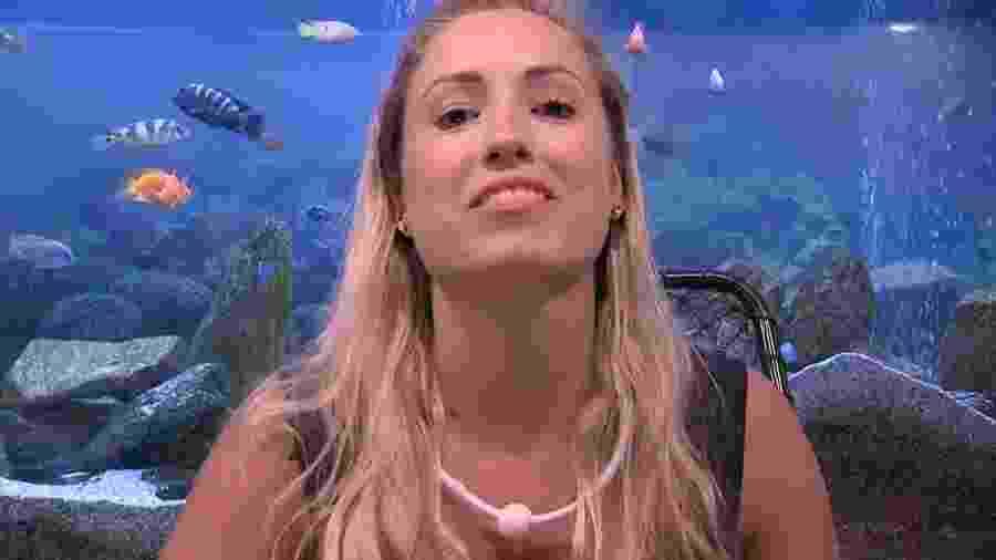 """Jéssica defende sua permanência no """"BBB18"""" - Reprodução/Gshow"""