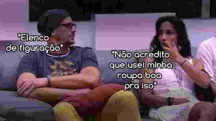Diva BBBEmilly 6 - Reprodução/Globo e Arte/Diva Depressão - Reprodução/Globo e Arte/Diva Depressão