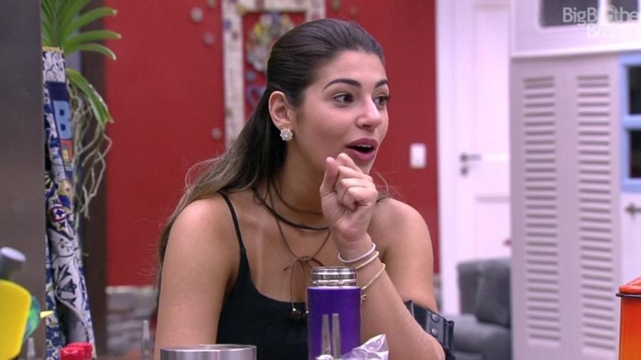 """""""O meu negócio era chegar e observar"""", diz Vivian sobre romance no """"BBB17"""" - Reprodução/TV Globo"""