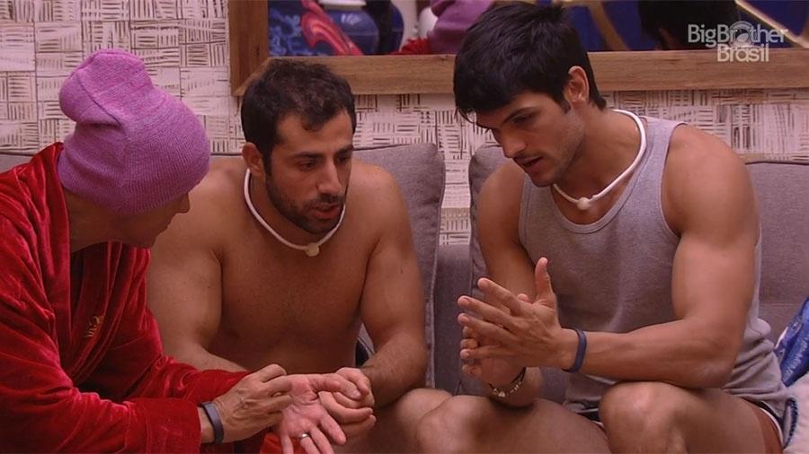 Kaysar conversa com Lucas sobre a prova do anjo - Reprodução/GloboPlay
