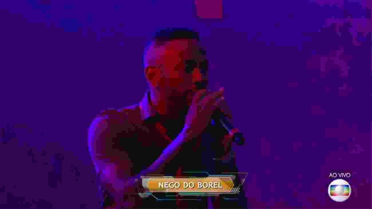 """Nego do Borel é a atração da primeira grande festa do """"BBB17"""" - Reprodução/TV Globo"""