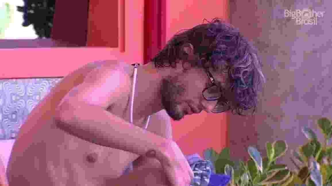 """Pedro critica Emilly: """"Mimada"""" - Reprodução/ TV Globo"""